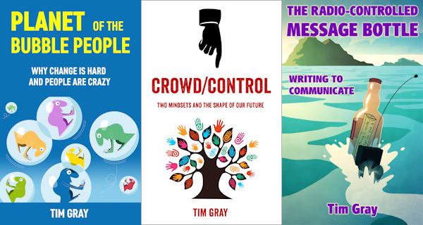 Tim's book covers
